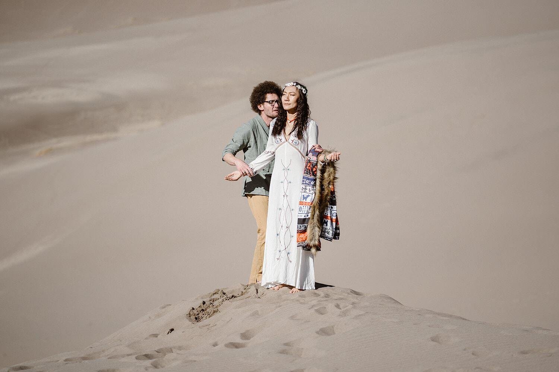A Great Sand Dunes Elopement