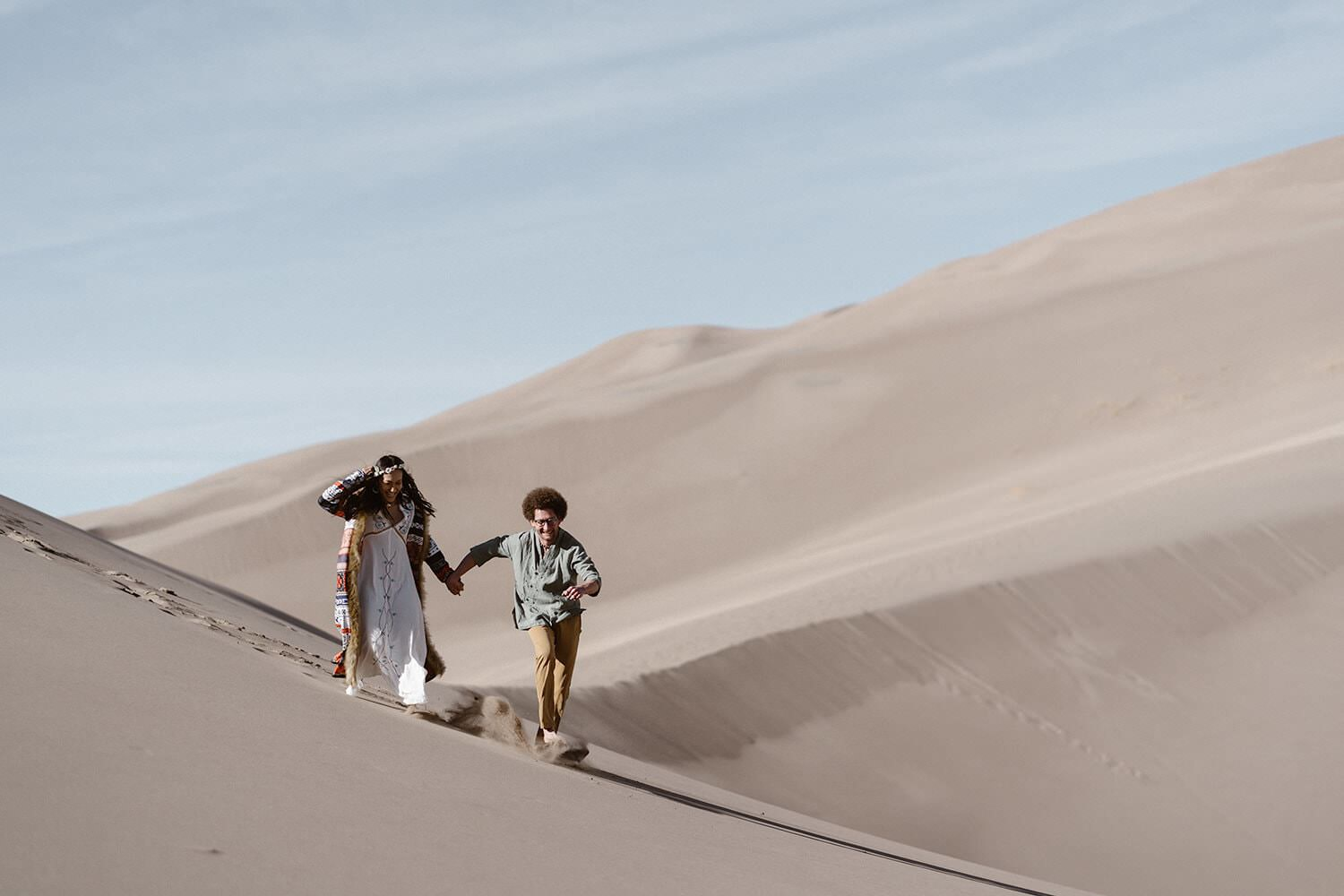 great sand dunes elopement from Colorado elopement photographer Location