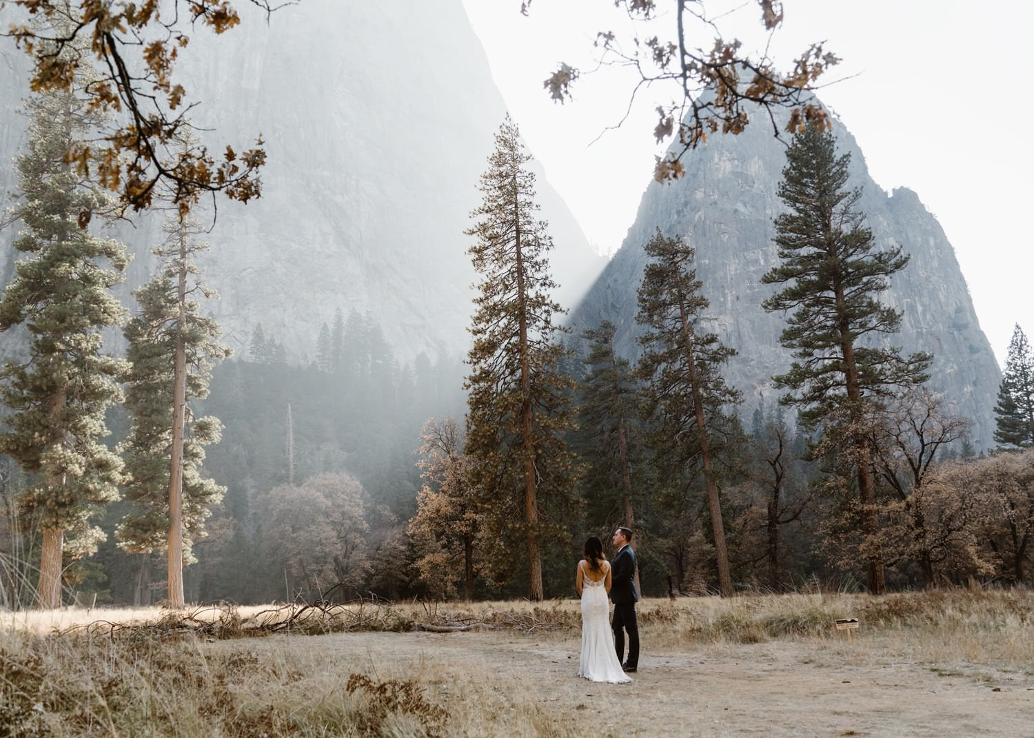 Yosemite National Park Elopement in the Valley Location