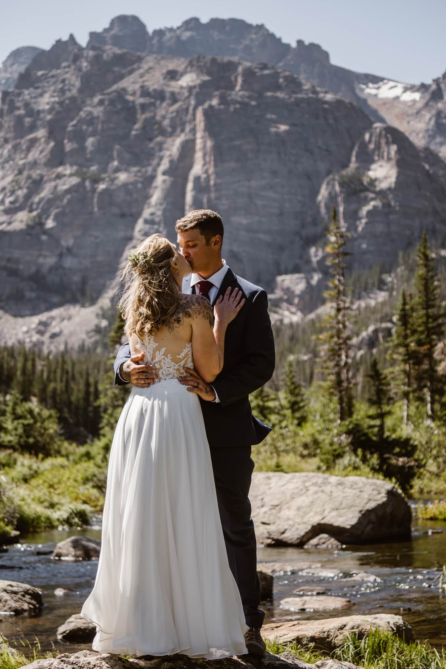 Lily Lake - Rocky Mountain National Park Elopement