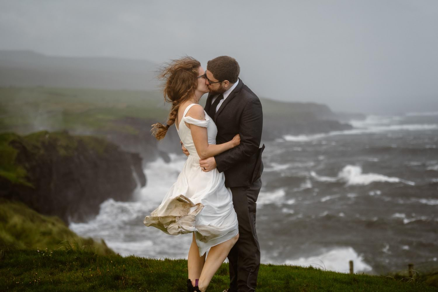 Ireland Cliffs of Moher Elopement Location