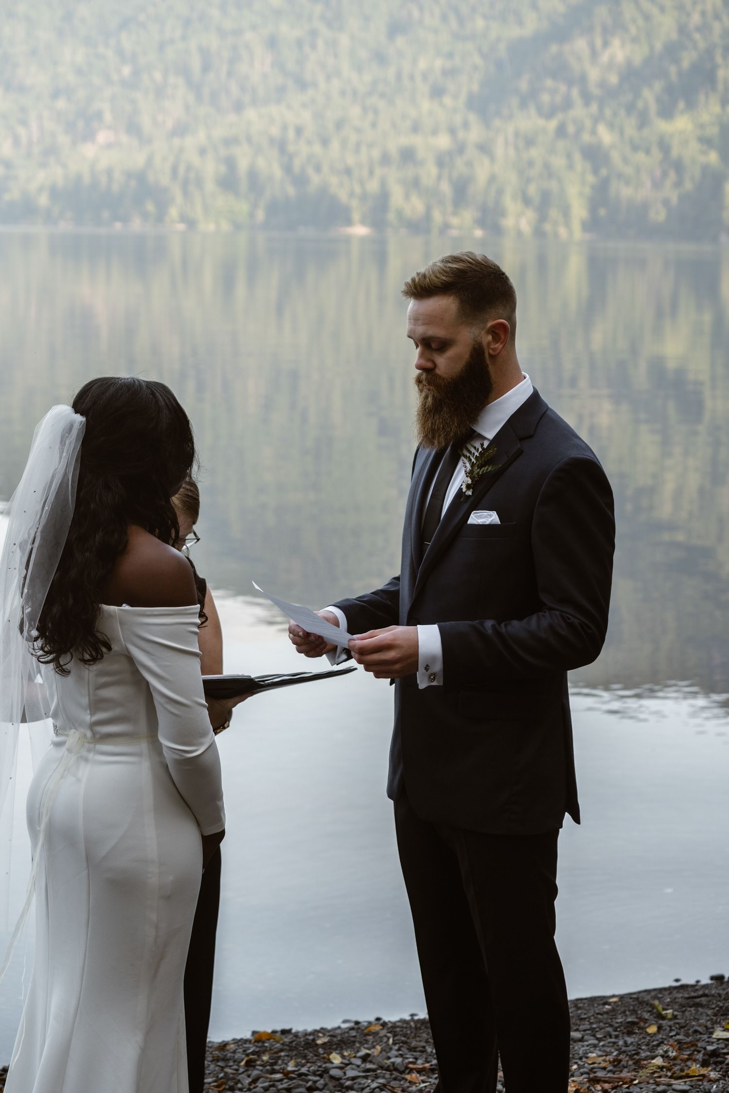Vow Ceremony Olympic National Park Elopement Pack List