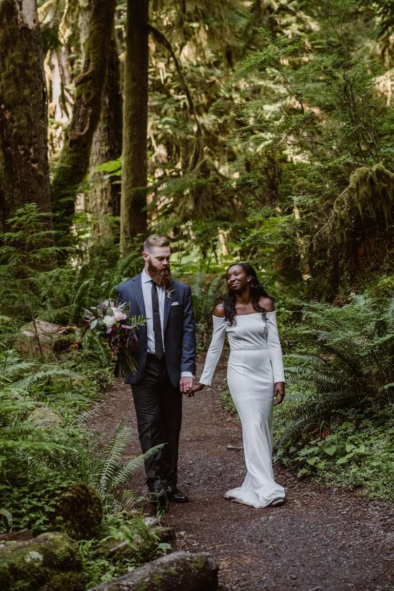Olympic National Park Forest Elopement