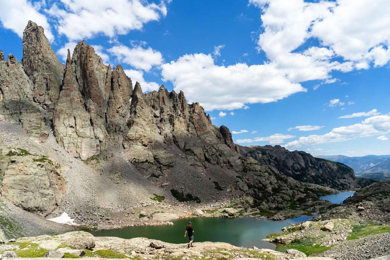 Sky Pond Rocky Mountain National Park Elopement Location