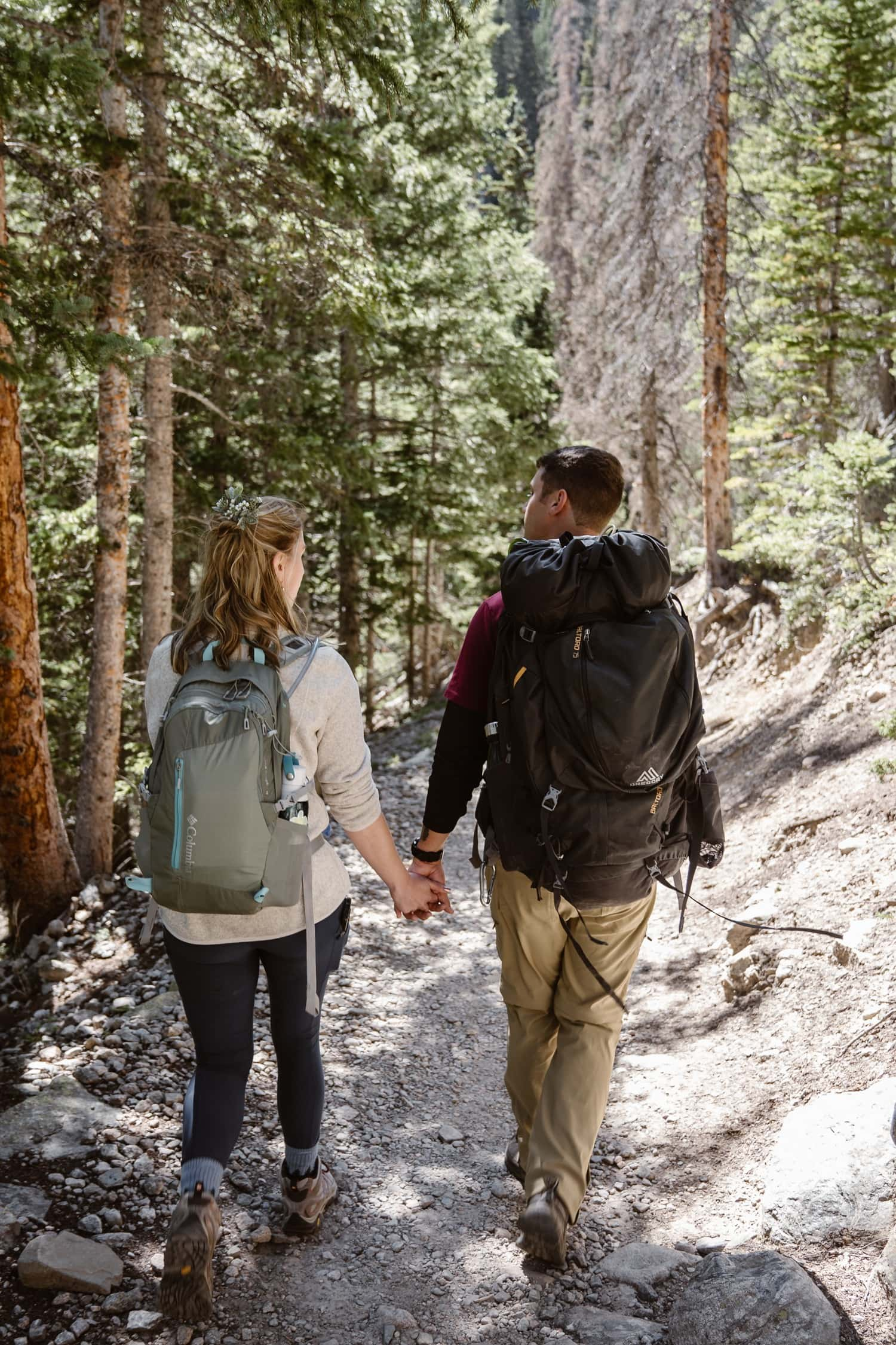 Rocky Mountain National Park Hiking  Elopement Pack List