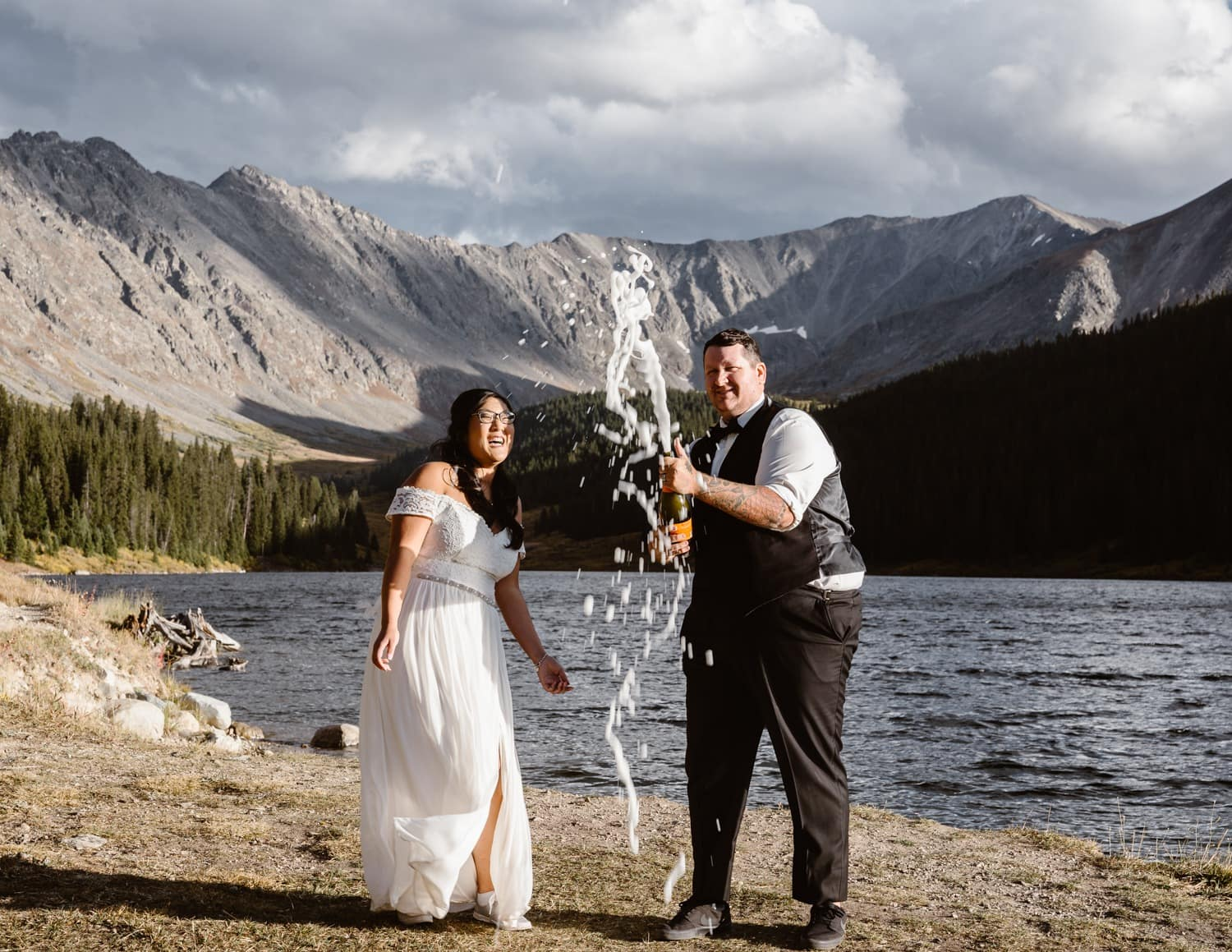 Colorado Mountain Sunset Elopement Pack List