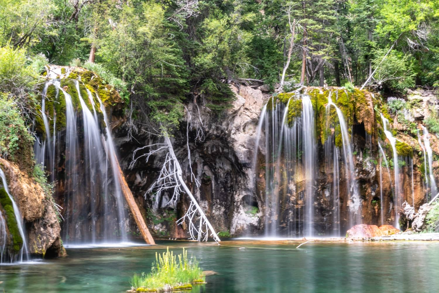 Best Places to Elope in Colorado Hanging Lake