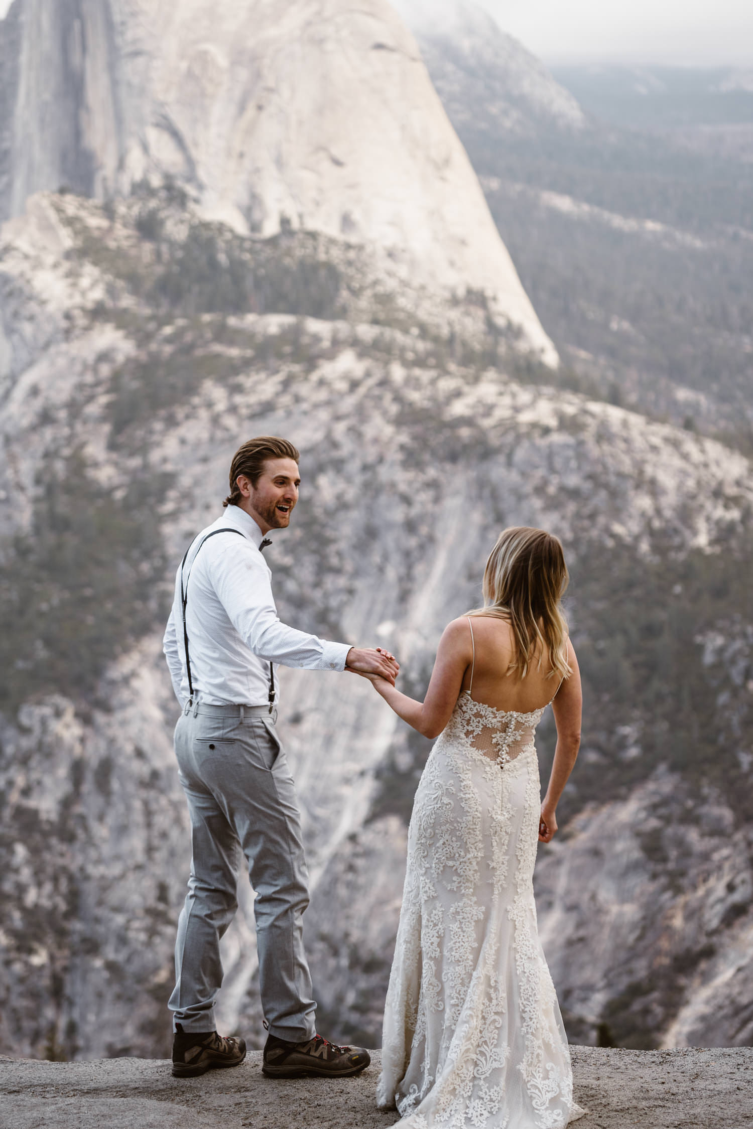 First Look Yosemite National Park Elopement