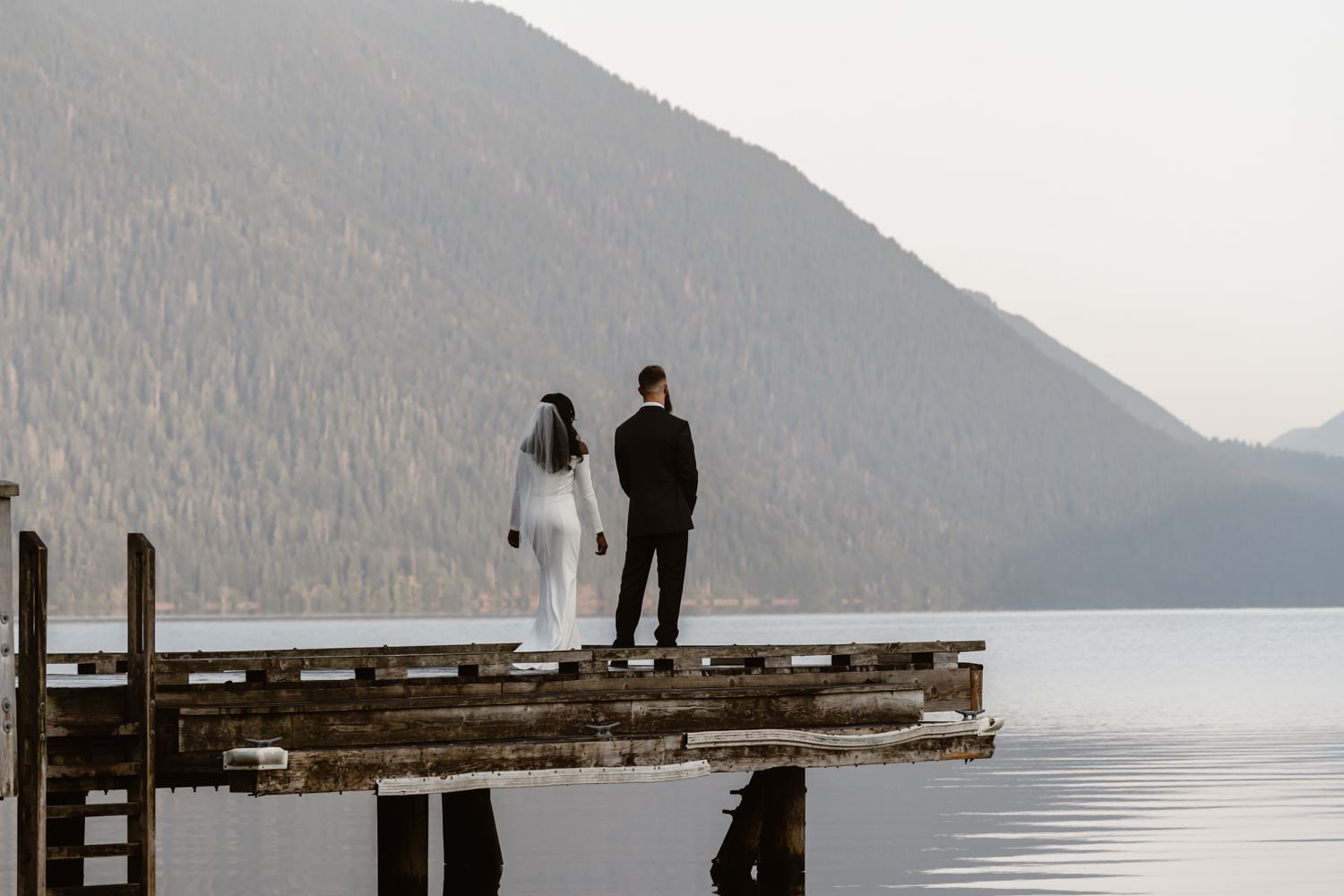 First Look Olympic National Park Elopement