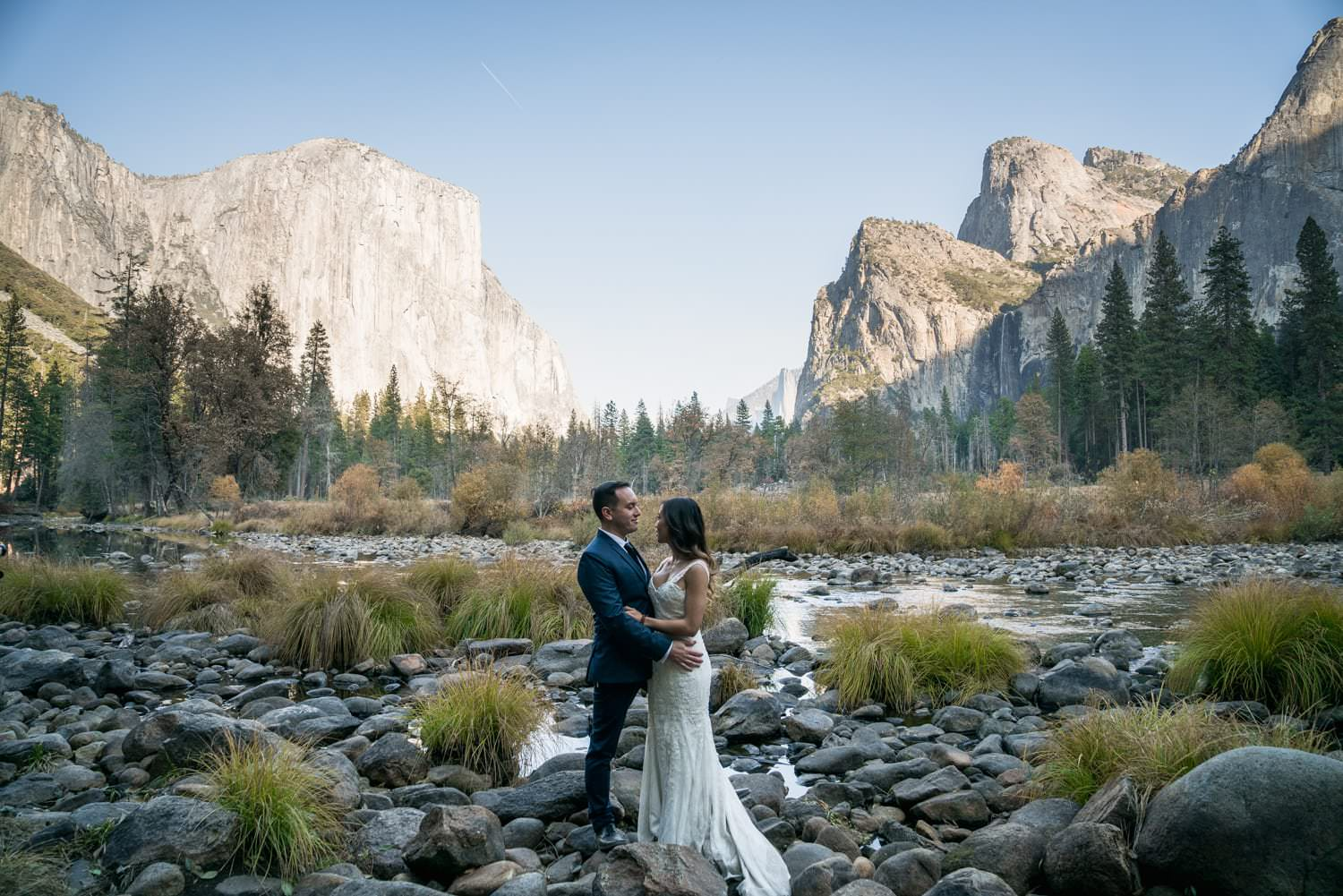 Yosemite Valley View Elopement