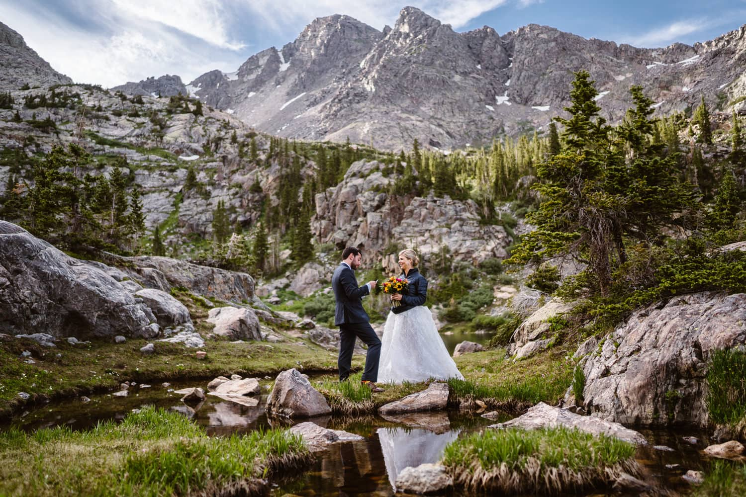 Vow Ceremony Colorado Elopement Packages