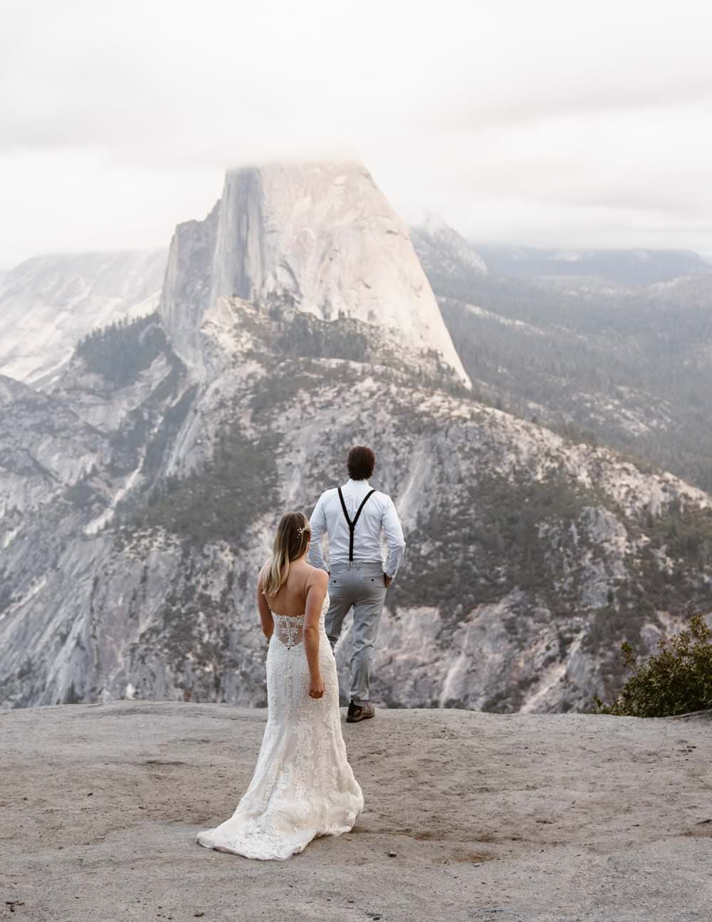 Eloping With Family - Yosemite First Look