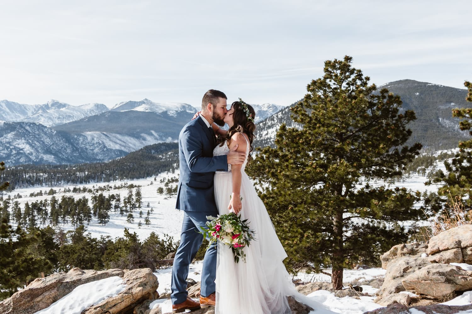Announcing Your Elopement - Rocky Mountain National Park Elopement
