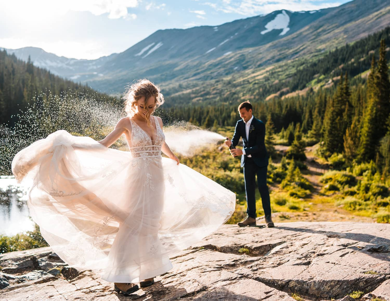 Best Places to Elope in Colorado Breckendridge