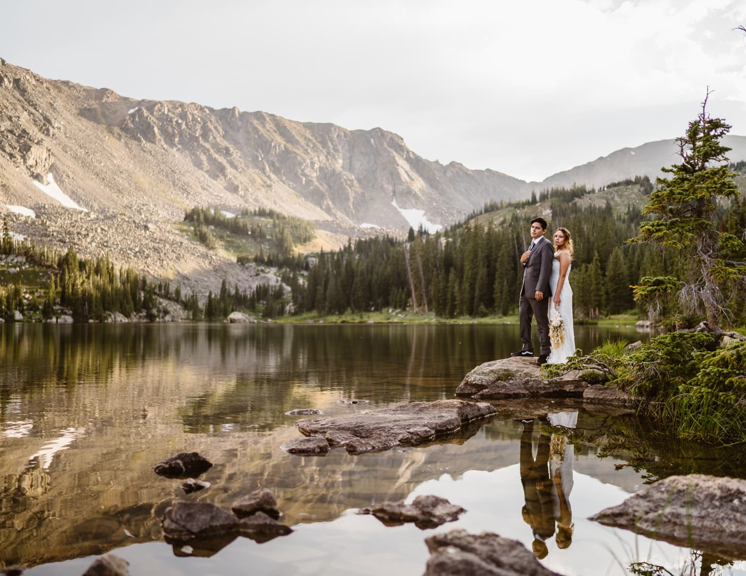 Bride and Groom Colorado Elopement Packages